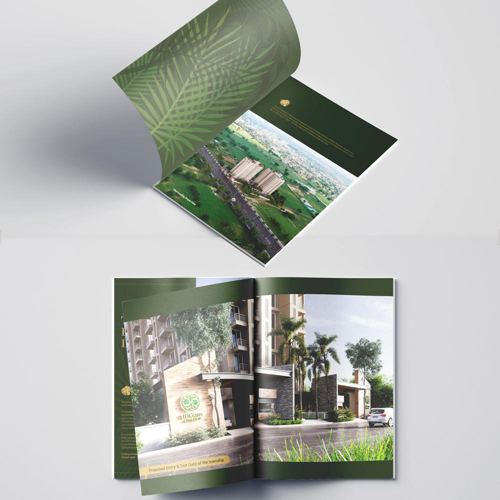 3d rendering brochure
