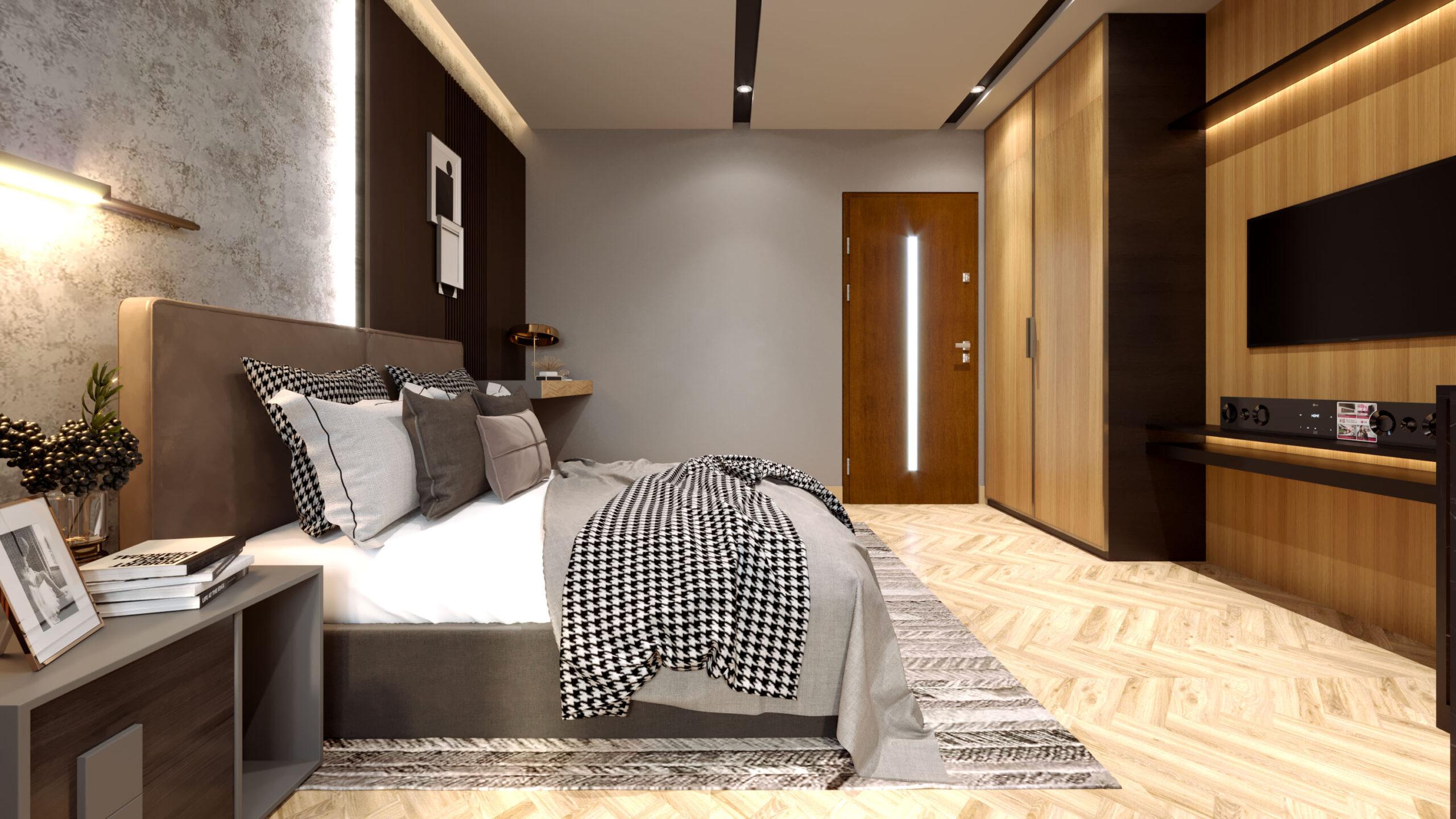 best 3d rendering bedroom