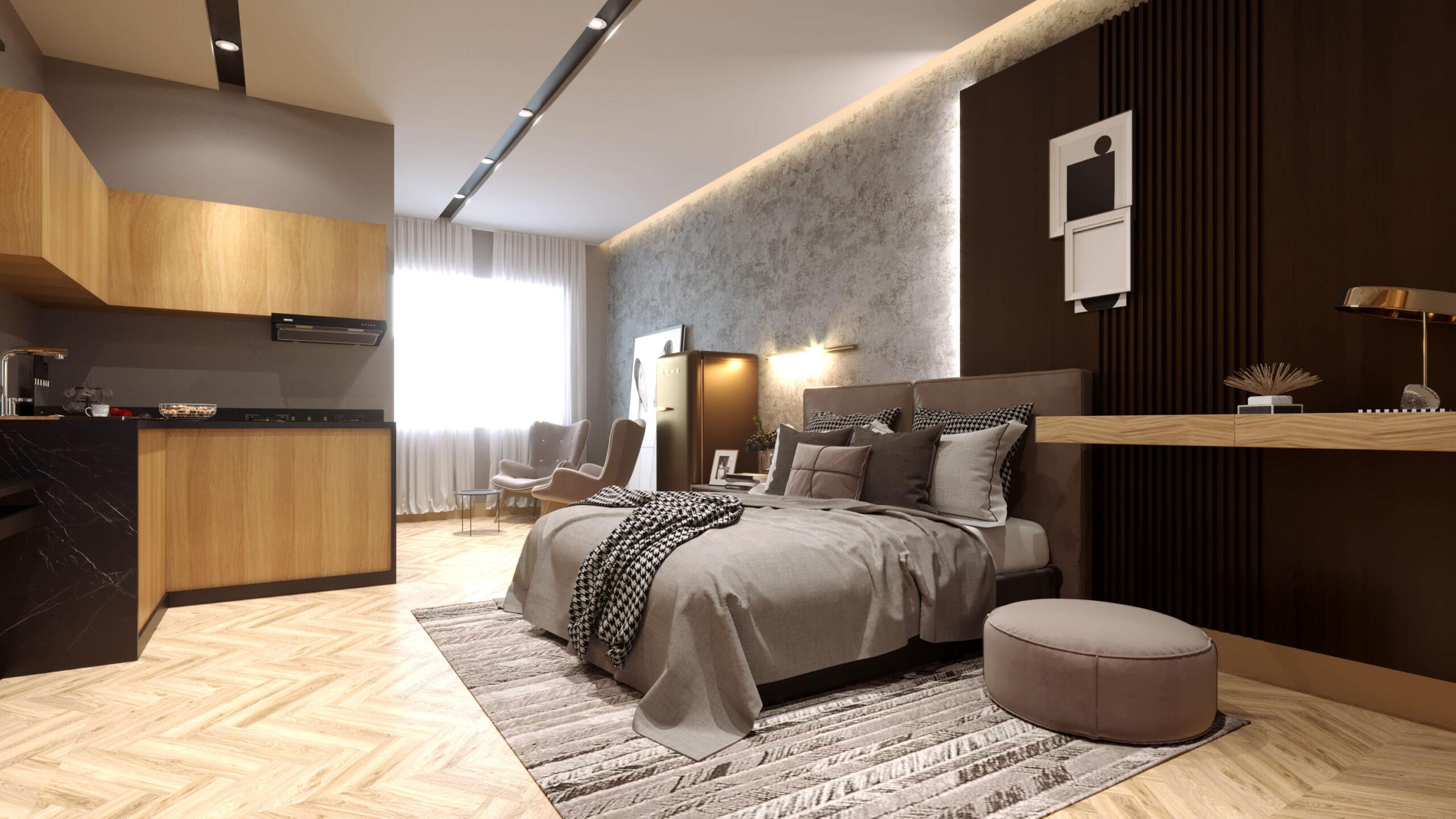 3d rendering bedroom